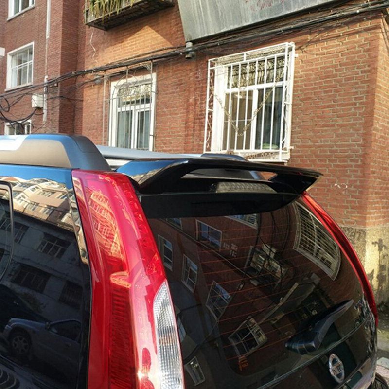 For Nissan X-Trail Car Decoration 2007-2013 ABS Plastic Paint Painting Color Rear Trunk Roof Spoiler