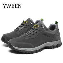 YWEEN Spring New Men Casual Shoes Lace Up Fashion Sneakers Breathable Outdoor shoes Big Size 39-49