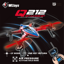 Original WLtoys Q212 ( Without Camera ) 2.4G 6 Axis RC Drone 3D Hovering CF Mode Altitude Hold One Key Return LED RTF