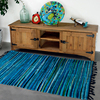 Kilim Solid 100 Cotton Bathroom Living Room Carpet Geometric Indian Rug Striped Modern Mat Contemporary Design