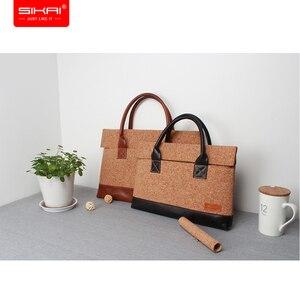 Image 2 - Новый портативный портфель KUMON для ноутбука, сумка для ноутбука Huawei MateBook, водонепроницаемый чехол для Macbook, для Dell