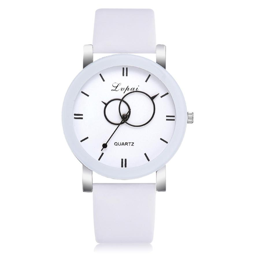 Fashion Women Watch Ladies Wristwatch Luxury High quality Quartz Leather Wrist Watch relojes mujer 2018 montre femme Gift #D