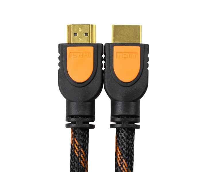 Mạ vàng 4 K * 2 K HDMI Cable HDMI TO HDMI Cable 0.3 M HDMI 1080 P 3D cho PS3 Chiếu HD LCD Apple HDTV Máy Tính Cáp 30 cm