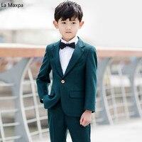 Детская одежда для свадеб костюмы для торжественных случаев Обувь для мальчиков длинные растения рубашка жилет Наборы для ухода за кожей р