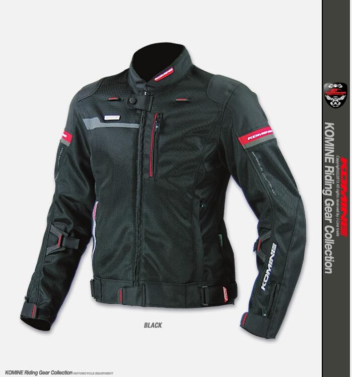 Spedizione Gratuita KOMINE JK044 ad alte prestazioni di goccia di resistenza che corre i vestiti abbigliamento moto giacca verde nero orange