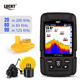 Бесплатная доставка! LUCKY FF718LiCD портативный рыболокатор 200 кГц/83 кГц двойной Sonar частоты 328ft/100 м глубина обнаружения finder