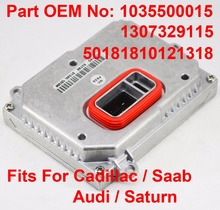 1PCS 35W D1S D2S OEM HID Xenon Headlight Ballast Computer Control Unit Car Part Number 1035500015 Fits For Cadillac Saab Audi 1pcs 12v 35w d1s d2s oem hid xenon headlight ballast computer control unit car part number 63117237647 fits for bmw rolls royce