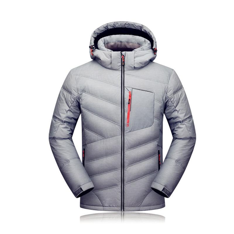 2018 New winter down ski jacket Men jacket male coat warm jacket waterproof outdoor windproof warm Outdoor sportswear original nike women s down coat vest warm down jacket sportswear