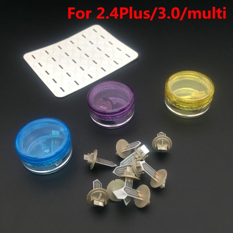 Mise à niveau Vape accessoires de vapeur remplacement céramique radiateur lame propre joint pour iqos 2.4/2.4 Plus/3.0/multi 1 pièces