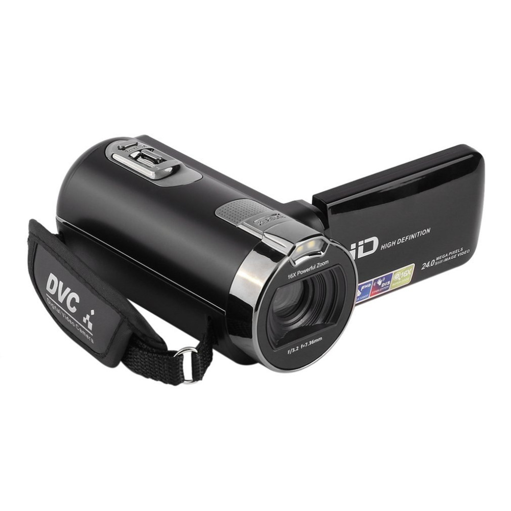 "Digital Video Camera Recorder 2.7"" TFT Full HD 1920x1080P Max 24 Mega DVC Pixels 16X Digital Active Zoom with LCD Camcorders"