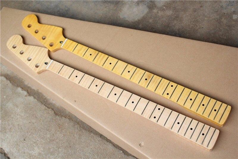 Usine vente Canada 20 frettes érable fretsboard 4 cordes basse guitare érable cou avec grande poupée, peut être personnalisé 9159