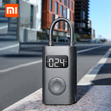 Xiaomi Inflatable Treasure Car Tire Bicycle Football Inflatable Digital Display Preloaded Pressure Compact Mini For Outdoor