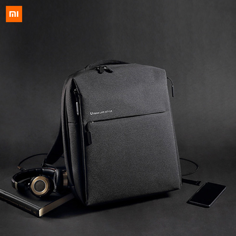 Xiaomi Mijia Youpin Fashion Xiaomi Minimalist Urban Backpack Bag Travel Business Leisure Backpack 295 350 190mm