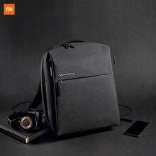 Xiaomi mijiaファッションxiaomiミニマリスト都市バックパックバッグ旅行ビジネスレジャーバックパック295*350*190ミリメートル330グラム