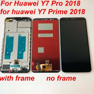 Image 3 - Original AAA For Huawei Y7 2018 / Y7 Pro 2018 / Y7 Prime 2018 LCD Display +Touch Screen Digitizer Assembly Replacement +Frame