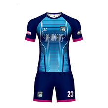 Новая мужская футбольная форма спортивный костюм может своими руками, на заказ для футбола, из джерси 2019 дышащий Camisetas Fut цена