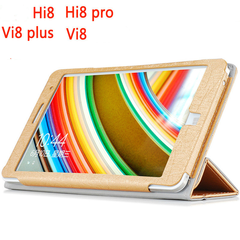 Flip Tablet Protection Cover Holder Case For Chuwi Hi8 Pro VI8 Plus Ultra Thin Fashion PU