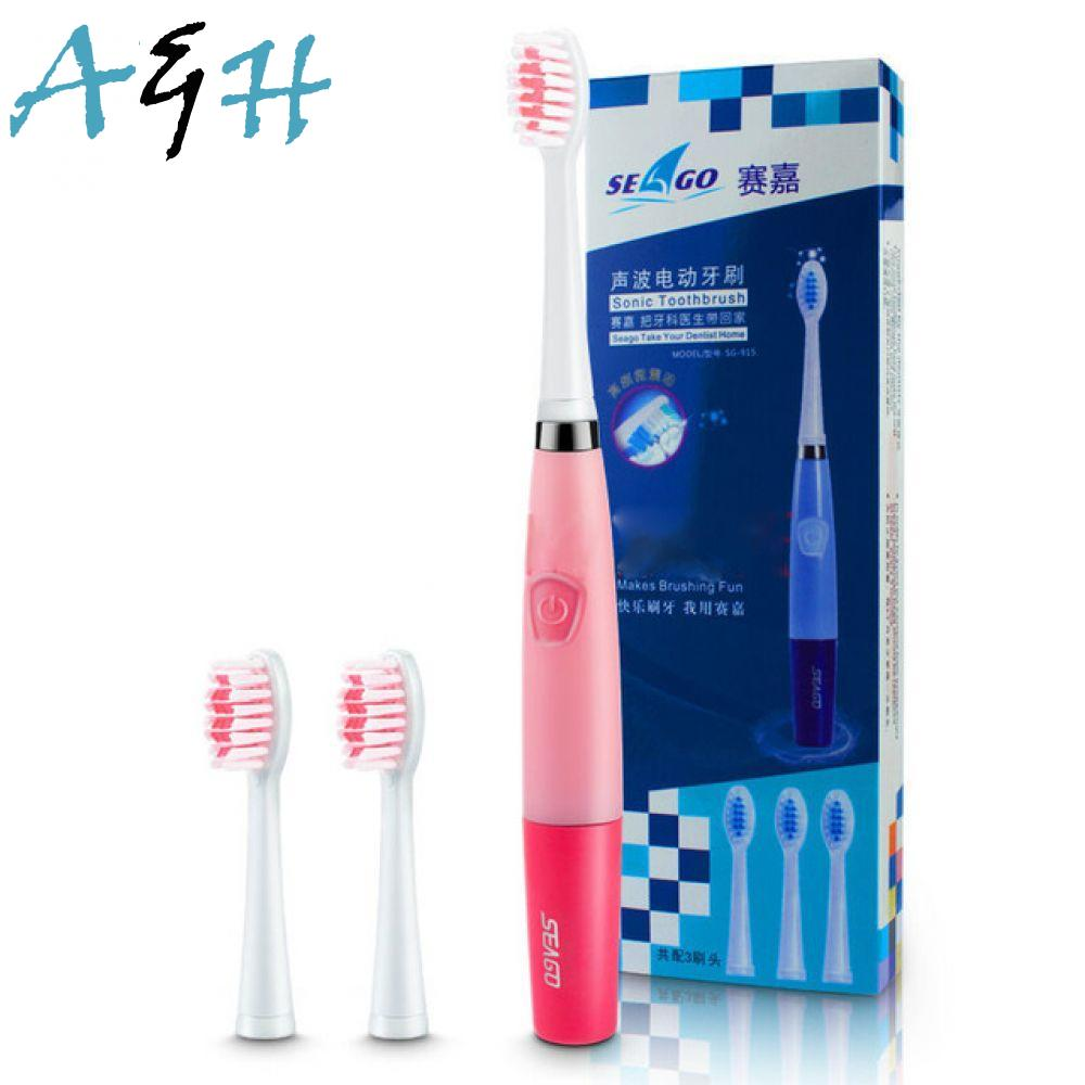 Heads Per Electric 23000 Brush 2 Toothbrush Sonic With Minute Micro-Brushes Oral Ultrasonic Hygiene For Adults SG-915 Seago