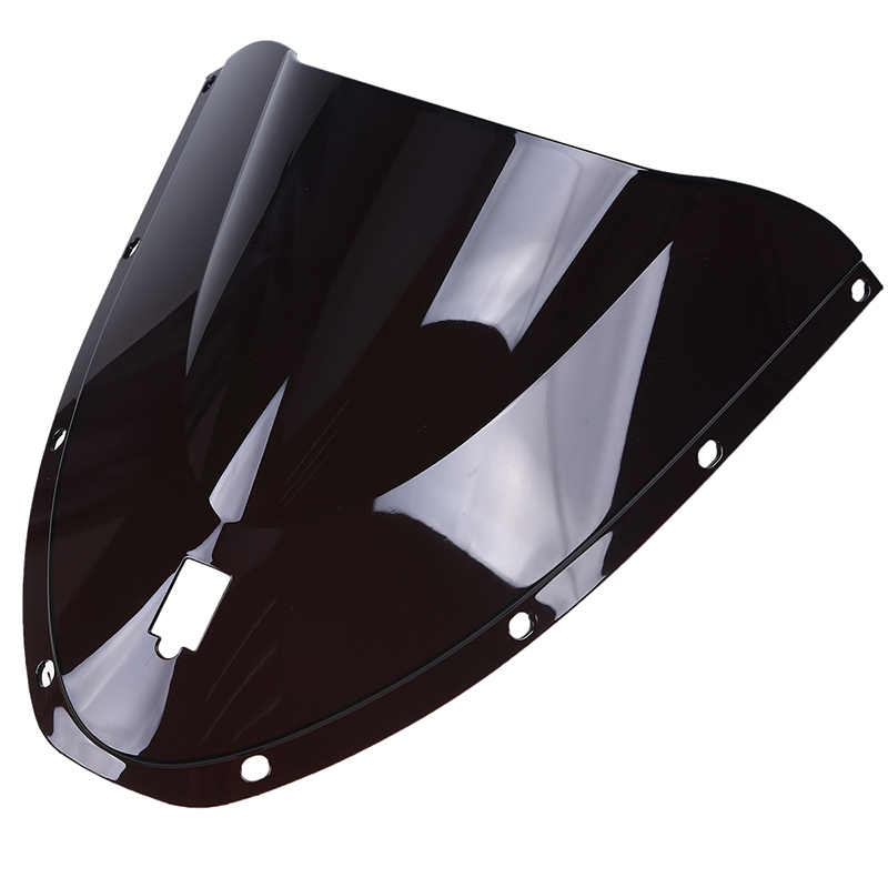 Hot Sales ABS Motorcycle Double Bubble Black Windscreen Windshield Wind Deflectors For Ducati 749 999 2005 2006 in Windscreens Wind Deflectors from Automobiles Motorcycles
