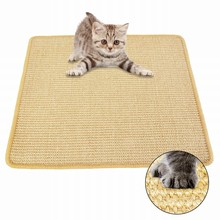 Hoomall High Quality Sisal Cat Scratching Post Mat Toy For Cats Pet Cat Scratch Pad Board Protecting Furniture Foot Pet Supplies(China)