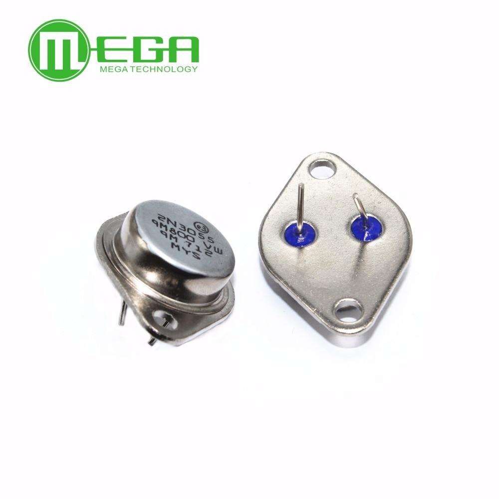 5pcs 10pcs Lot 2n3055 Mj295 N3055 3055 2955 To3 In Integrated Ams1117 33v 1a Voltage Regulator Electrodragon 15a 60v Npn Af Amp Audio Power Transistor