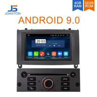 JDASTON Android 9.0 Car Multimedia Player For Peugeot 407 2004 2010 WIFI GPS Navigation Stereo Car Radio DVD CD 4G RAM 8 Cores