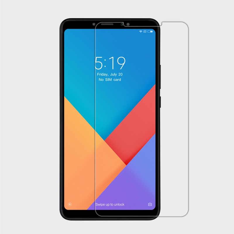 2 шт./лот протектор экрана из закаленного стекла для оригинальный Xiaomi Mi макс 3 4 GB 64 GB Snapdragon 636 6,9 дюймов мобильный телефон Max3 Экран защитная пленка