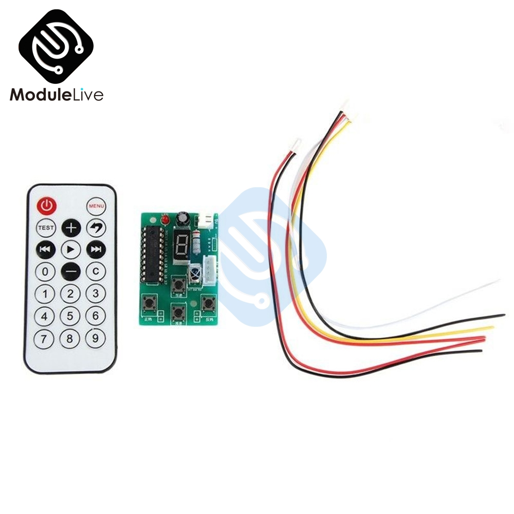 DC Adjustable Speed Stepper Motor Click Driver Controller DC4 ~ 6V With Remote ControlDC Adjustable Speed Stepper Motor Click Driver Controller DC4 ~ 6V With Remote Control