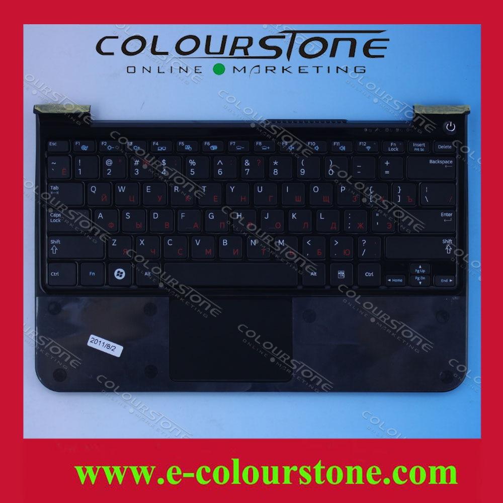 RU Laptop Keyboard for SAMSUNG 900X3A 900X1B with palmrest topcase upper case BA75-03221C CNBA5902907CBYNF 17H 0434 ru laptop keyboard for samsung rf510 rf511 keyboard with c cover case palmrest upper touchpad new