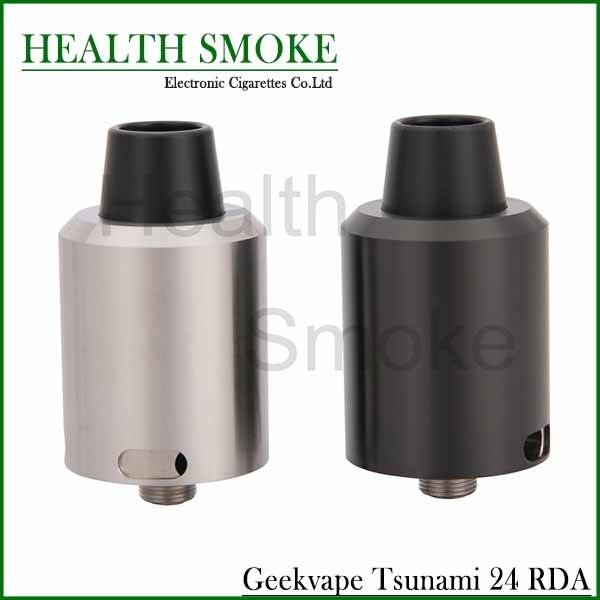 bilder für NEUE Original Geekvape Tsunami 24 RDA Geschwindigkeit Stil Deck Einstellbaren Luftstrom Zerstäuber Tank Elektronische Zigarette Verdampfer