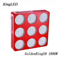 GoldenRing S9 1890W Double Chips LED Grow Light Full Spectrum Fast For vegetable Plants Growing and Flowering LED Light