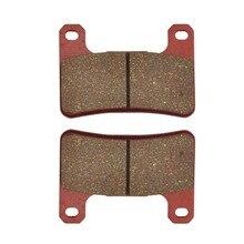 Front Brake Pads For KAWASAKI SUZUKI ZX10R ZX1000 ZR1000 Z1000 Z1000SX GSXR600 GSXR750 GSXR1000 GSX1300R M1800R M1800RZ
