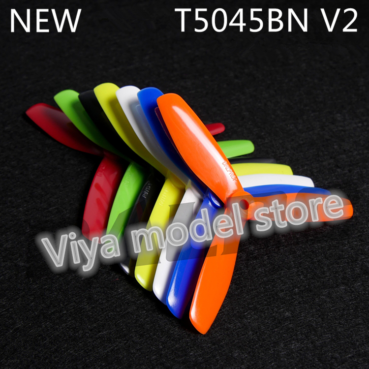 12 pairs DALPROP Dynamic Balancing T5045BN V2 5-inch mini multi-rotor 3 blades special propeller for DIY FPV racing mini drone dalprop t5040 v2 high end dynamic balancing propellers fpv pc propeller cw ccw for qav250 5 inch 3 leaf blades excellent balance