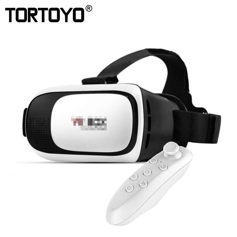 цена на Google Cardboard VR II 2.0 Version VR Virtual Reality 3D Glasses For 3.5 - 6.0 inch Smartphone Glass for iPhone for Samsung