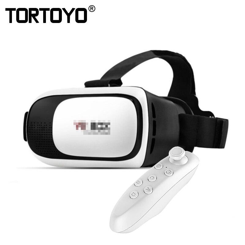 Google Cartone VR II 2.0 Versione VR Realtà Virtuale 3D Occhiali Per Il 3.5-6.0 pollice Smartphone Glass per il iphone per Samsung