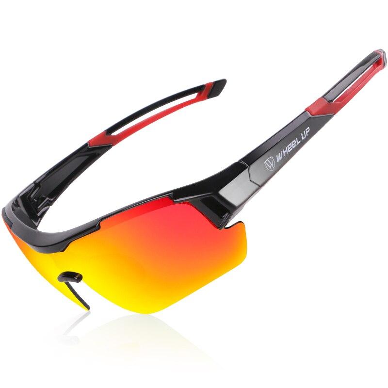 Polarisierte Sonnenbrille Uv400 Radfahren Brillen Männer Frauen Wasserdichte Beschichtung Aerodynamische Fahrrad Mtb Gläser Mit Anti-slip Bar