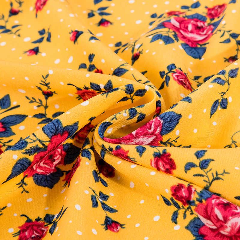 Rose gedruckt chiffon stoff für mädchen kleid und sommer garment nähen stoff breite in 150cm TJ0250
