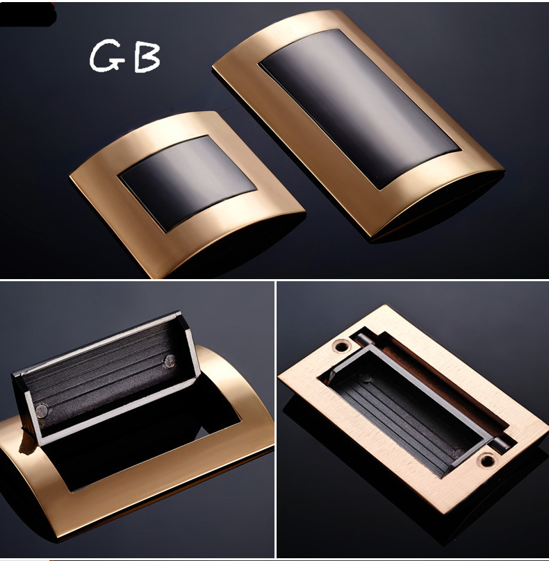 New High Quality Wardrobe Drawer 3 Type Invisible Hidden Handle Modern Cabinet/Shoe Cupboard Door Handle push to open beetles drawer cabinet latch catch touch release kitchen cupboard new arrival high quality
