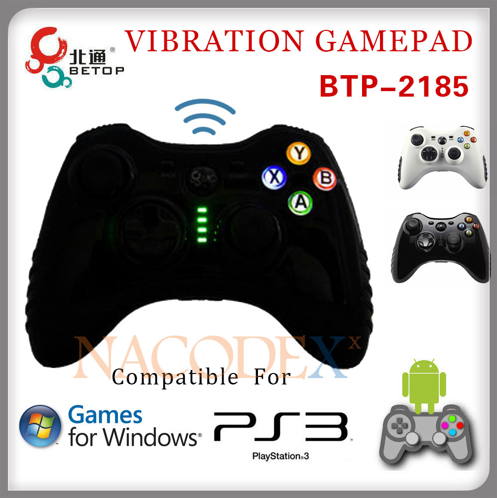 Betop BTP 2185 Asura TE 2.4GHz Wireless Computer Game Controller Joypad  Gamepad with Lithium Battery for PC PS3 Android PC360-in Gamepads from  Consumer ...