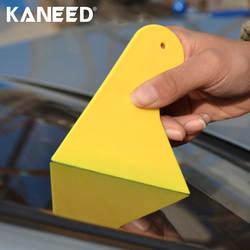 Автомобиль скребок KANEED 10 шт. окна автомобиля пленка оберточная скребок утолщение автомобиль Стикеры инструмент Размеры: 11 см * 9,5 см 4,3