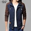 Новый Бренд Clothing Mens Куртки И Пальто Мужчин Изнашивании Куртки мужские С Капюшоном Пальто Вскользь Куртка Манто Homme Jaqueta Masculina