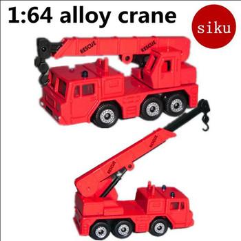 1 64 pojazdy budowlane ze stopów dźwigi budowlane wysoka symulacja model SIKU-1326 zabawki edukacyjne bezpłatna wysyłka tanie i dobre opinie Diecast Mini don t eat 6 lat Metal Inne 20160413-1 Samochód