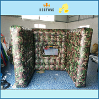 inflatable paintball obstacles/ inflatable CS bunker paintball wall games
