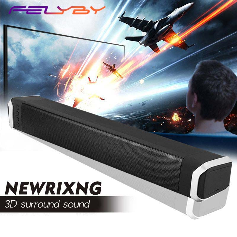 FELYBY Wireless Bluetooth Speaker Soundbar Stereo Speaker home theater computer speaker audio subwoofer bluetooth speaker