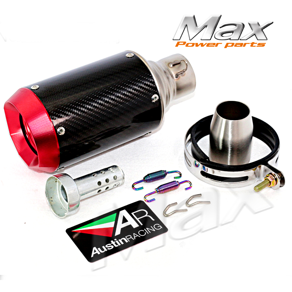 ФОТО New Arrival Professional Refitting motorcycle exhaust flame  63mm stainless steel AR AUSTINRACING big exhaust muffler