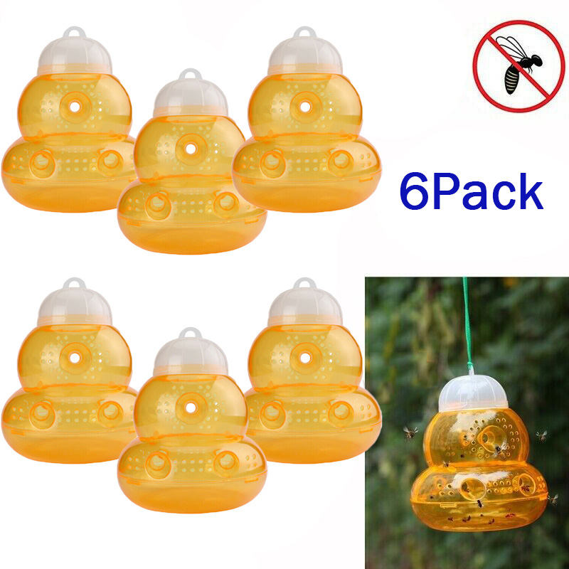 Bee Catcher Wasp Traps Tools Equipment Accessory Outdoor Hanging Yellow Jackets No Poison Chemicals New Durable