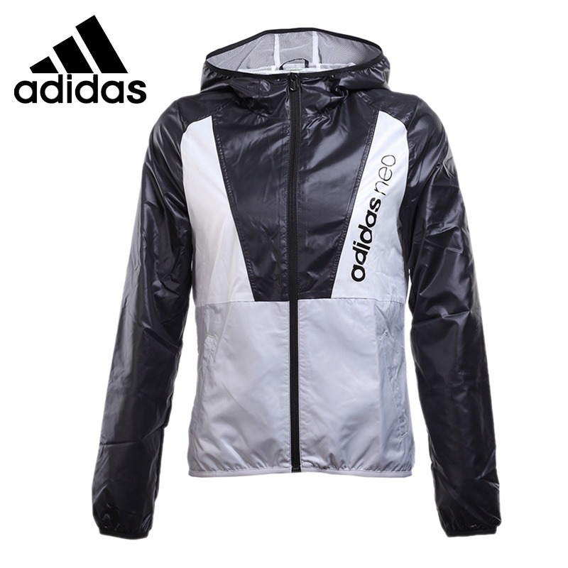 Original New Arrival 2017 Adidas NEO Label Women's  jacket Hooded Sportswear adidas original new arrival official neo women s knitted pants breathable elatstic waist sportswear bs4904