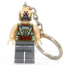 NO.082 Bane Super Heroes Avengers Minifigure Keys Ring Keychain Handmade Key Chain Building Blocks Toy