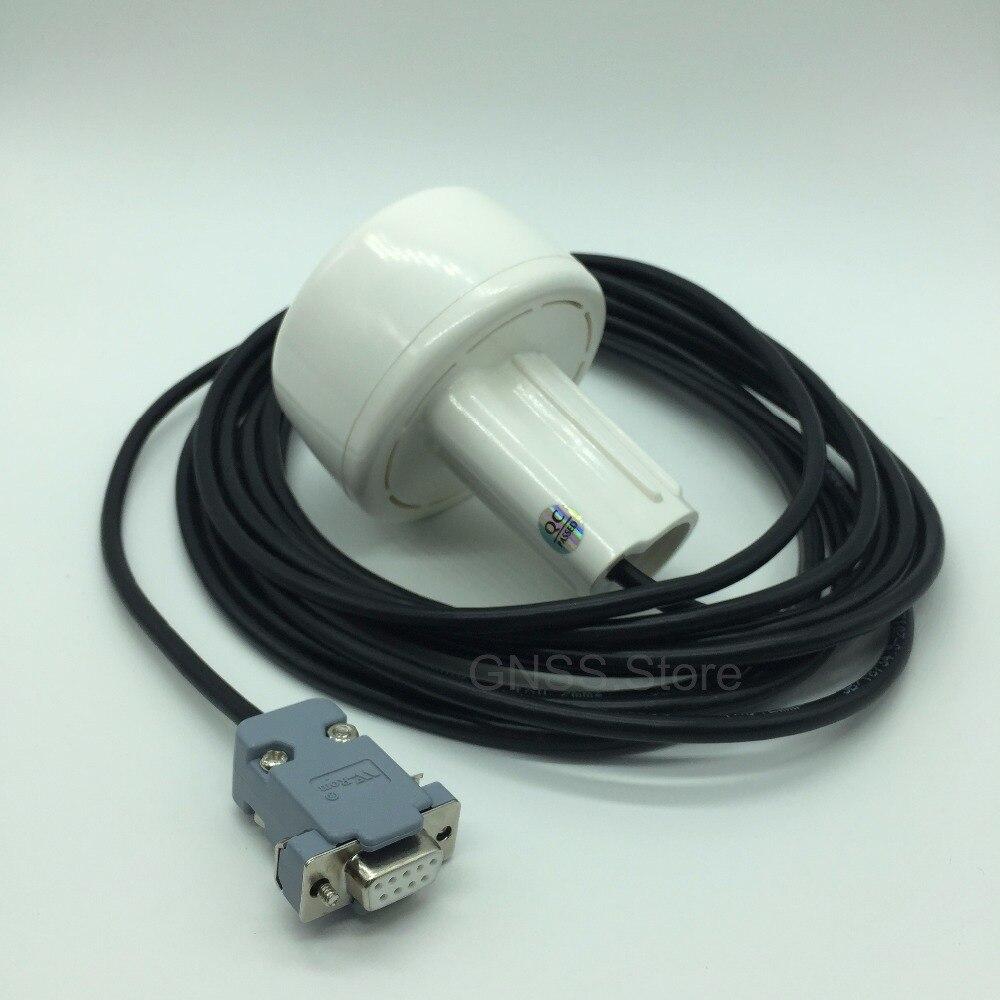 4800 vitesse de transmission, 12 v rs232 DB9 RS-232 GPS glonass récepteur Antenne soutien 1-10 hz Gnss Puce Module Conception, NMEA0183.