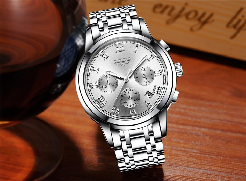 HTB1KtTbfvDH8KJjy1Xcq6ApdXXaa LIGE Men Watches Top Luxury Brand Full Steel Waterproof Sport Quartz Watch Men Fashion Date Clock Chronograph Relogio Masculino